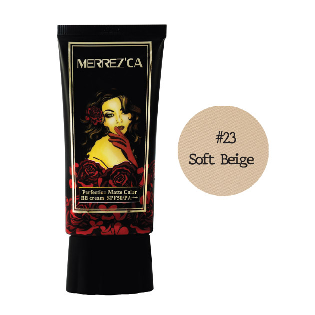 Merrez'Ca Perfection Matte Color BB Cream SPF50 Pa++ #23 Soft Beige