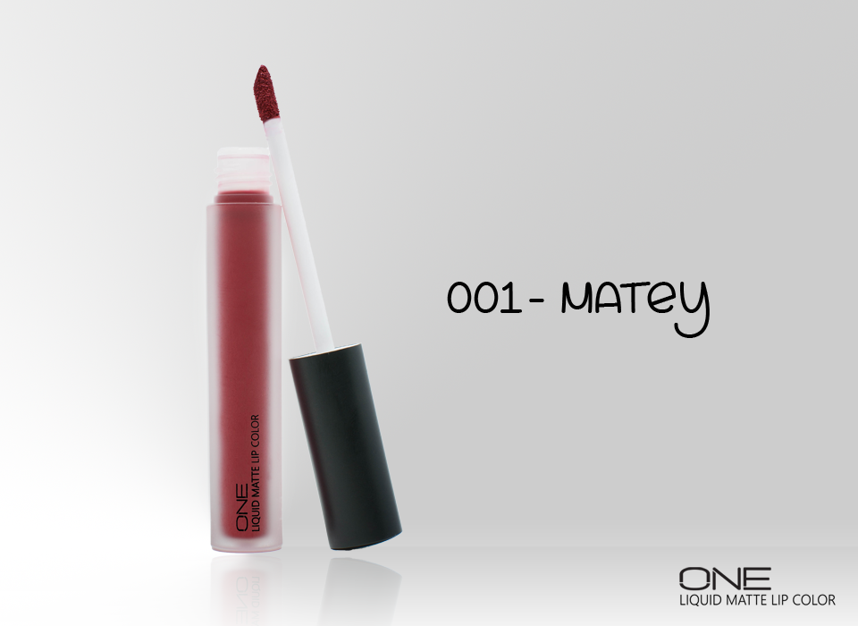 ONE LIQUID MATTE LIP COLOR (001-MATEY)